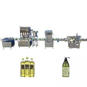 Máquina de llenado de aceite lubricante de rango de llenado de 100 ml - 1000 ml