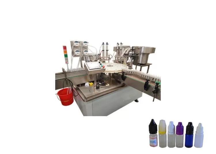 Máquina de llenado de aceite de volumen de llenado de 10 ml - 60 ml