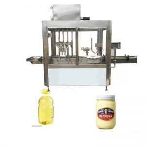 Máquina de llenado de aceite de oliva de 220V 1.5kw