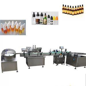 Máquina automática de llenado de líquidos de acero inoxidable 304