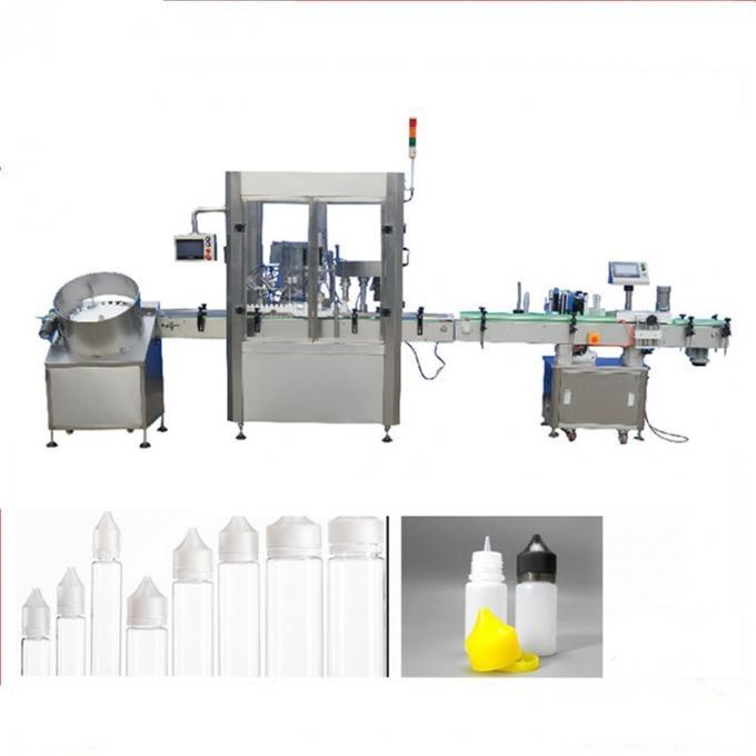 Máquina de llenado de líquidos electrónicos de acero inoxidable 304