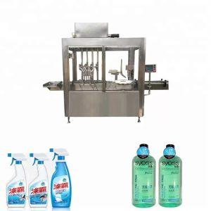 Máquina de llenado y taponado de botellas de plástico de acero inoxidable 304