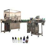 Máquina de rellenar líquida electrónica automática 3kw para la botella cuentagotas ambarina 10ml / 30ml