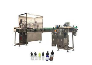 Máquina de rellenar líquida electrónica automática 3kw