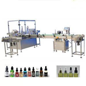 4 boquillas de llenado de la máquina de llenado de aceite esencial