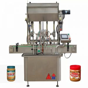 Máquinas de llenado de botellas de miel de 4 boquillas