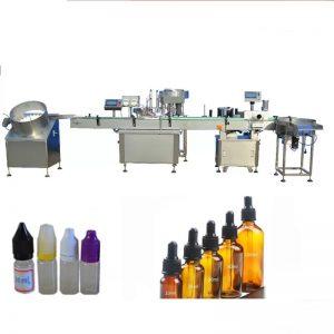Máquina de llenado de perfume de volumen de llenado de 5-30 ml