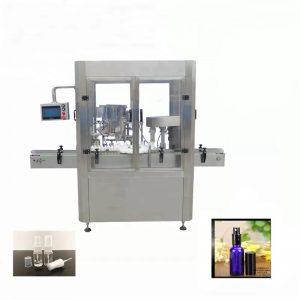 Máquina de llenado de botellas de aerosol de vial de aluminio