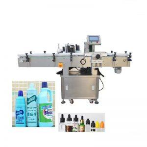 Máquina automática de etiquetado de botellas de líquido desinfectante