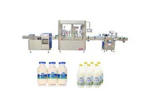 Máquina automática de llenado y taponado de líquidos para 250 ml 500 ml