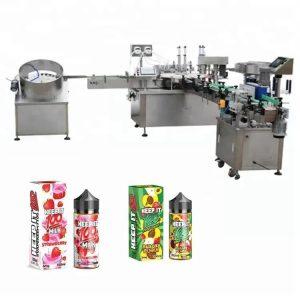 Máquina automática de llenado de líquidos para 10 ml