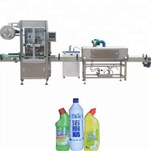 Máquina de etiquetado de botellas utilizada para el control PLC de botellas redondas