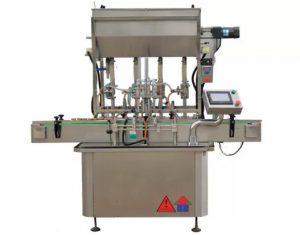 Máquina de llenado de botellas de pasta de salsa estándar CE