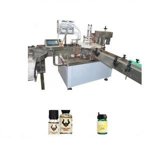 Máquina de llenado de aceites esenciales químicos
