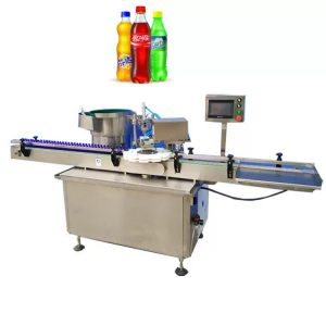 Máquina de tapado de botellas de tipo eléctrico