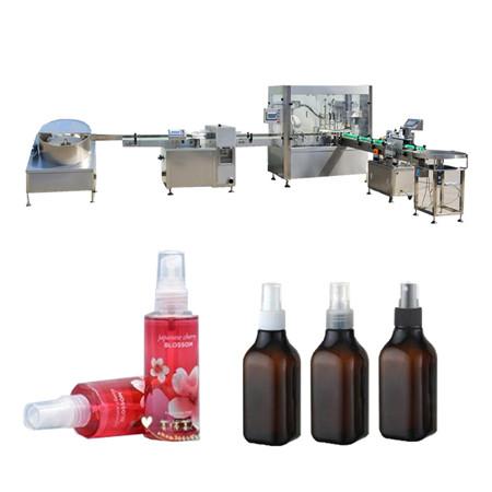 Máquina de llenado de aceites esenciales