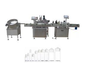 Máquina de llenado de líquidos completamente automática