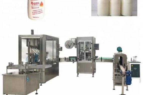 Máquina automática de llenado de líquidos para botellas de vidrio
