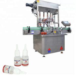 Máquina de llenado automático de botellas de pegamento