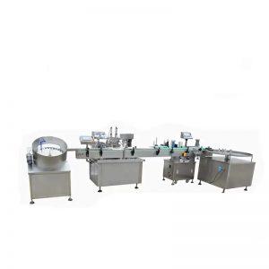 Máquina de llenado de líquidos electrónicos de alta velocidad