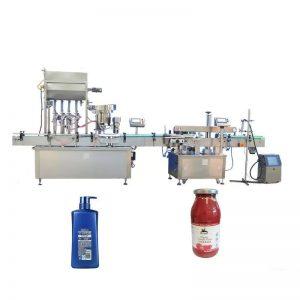 Máquina de llenado de miel de alta velocidad utilizada en productos farmacéuticos
