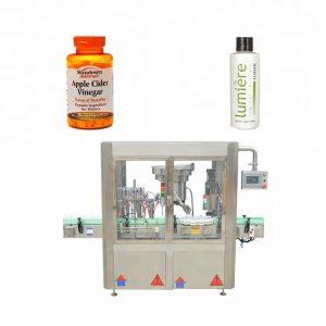 Máquina taponadora de miel para botellas
