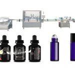 Máquina de llenado de aceite esencial médico con panel de operación de pantalla táctil a color