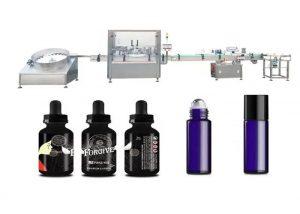 Máquina de llenado de aceites esenciales médicos