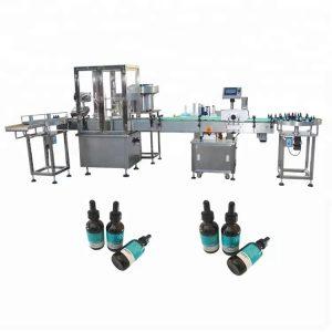 Máquina de llenado de aceite esencial mínimo para botella de vidrio de 30 ml