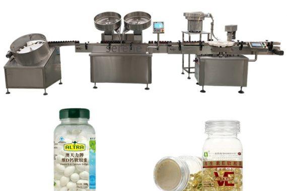 NP-SL60 doble cabeza contando píldoras máquina llenadora de cápsulas embotelladas