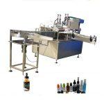 Máquina de taponado de llenado de botellas de PET, máquina de llenado y sellado de controlador PLC