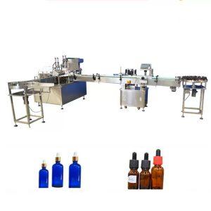 Máquina de llenado de botellas de aceite esencial de control PLC