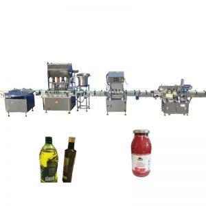Máquina de llenado de aceite esencial PLC Control
