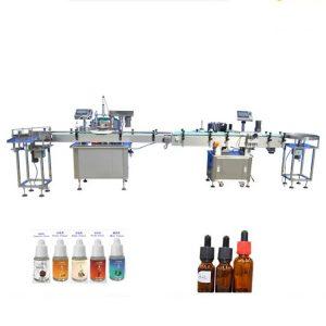 Máquina de llenado de perfumes para botellas de vidrio cuentagotas