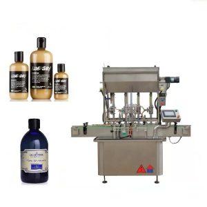 Máquina de rellenar líquida conducida neumática de 4 cabezas para la miel
