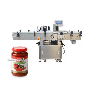 Máquina de etiquetado de productos de botellas redondas