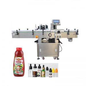 Máquina de envasado y etiquetado de productos redondos