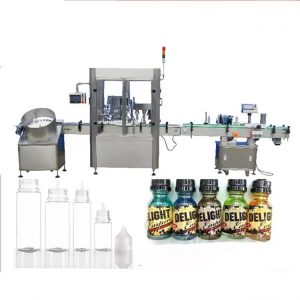 Máquina de llenado de botellas con cuentagotas servo motor