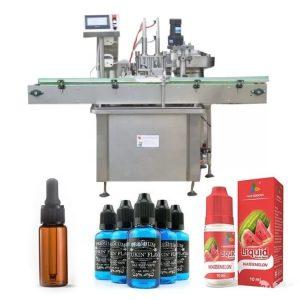 Máquina de llenado de botellas de aceite de control PLC de Siemens