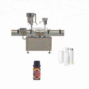 Máquina de tapado de botellas de acero inoxidable utilizada en medicina