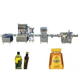 Máquina de llenado de aceite comestible de motor paso a paso