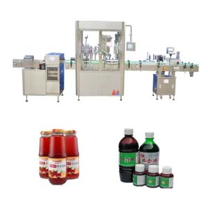Máquina automática de llenado de líquidos con pantalla táctil 50ml