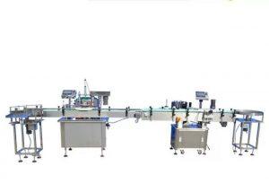 Máquina de llenado de esmalte de uñas con pantalla táctil