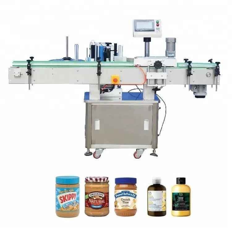 Máquina de etiquetado vertical de la botella autoadhesiva para la medicina